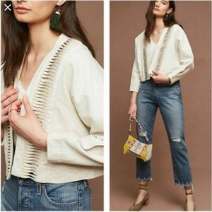 Anthropologie Hei Hei Cropped Jacket